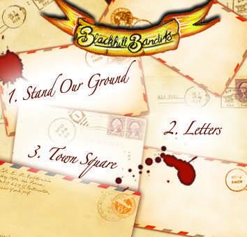 Blackhill Bandits Bloody Mary Me EP back
