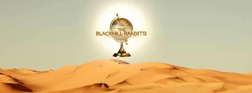 Blackhill Bandits banner sahara